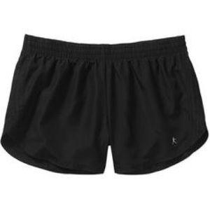 Danskin black athletic work out shorts
